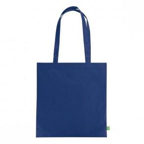 Flat shopping bag blue