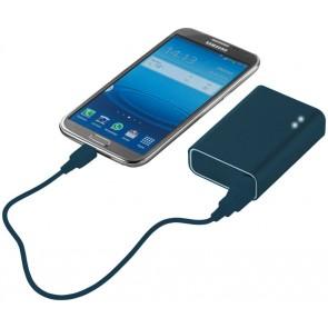 Batería externa 4400mAh AZUL