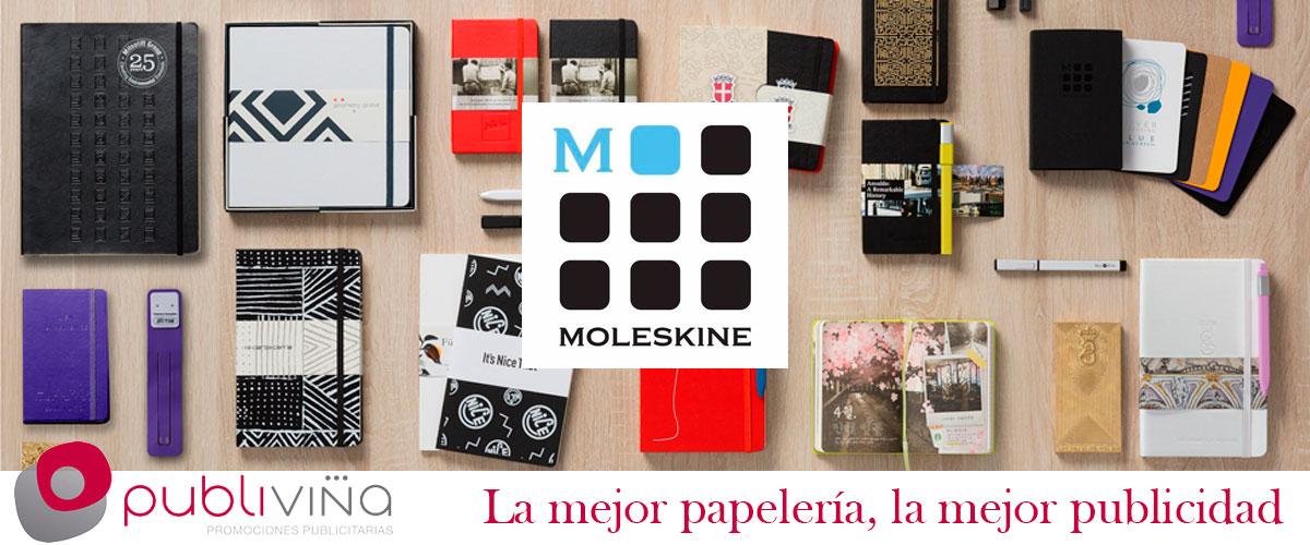 Papeleria publicitaria Moleskine