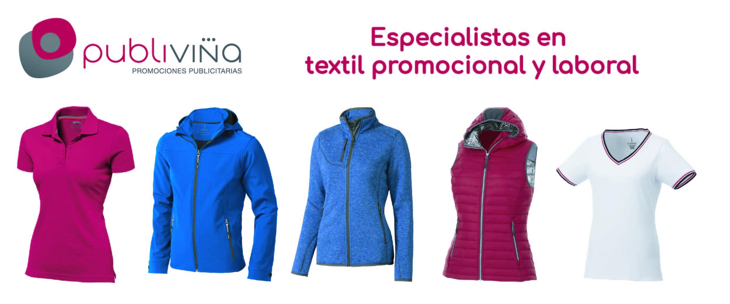 Artículos publicitarios de textil